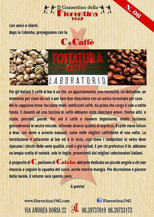 Fiorentina 1942 » Tostatura Caffè – LABORATORIO